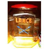"Vintage ""Lance"" Counter Top Jar"
