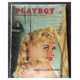 May 1958 Playboy Magazine
