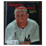 Vintage Sports Illustrated Magazine- MIckey Mantle Cover