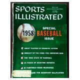Vintage Sports Illustrated Magazine- 1958 Baseball Issue