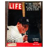 Vintage LIFE Magazine- Mickey Mantle Cover