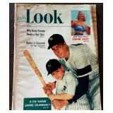 Vintage LOOK Magazine- Joe DiMaggio Cover
