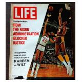Vintage LIFE Magazine- Kareem/Wilt Cover