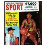 Vintage SPORT Magazine- Wilt Chamberlain Cover