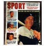 Vintage SPORT Magazine- Duke Snider Cover