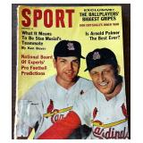 Vintage SPORT Magazine- Ken Boyer/Stan Musial Cover