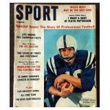 Vintage SPORT Magazine- Johnny Unitas Cover