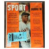 Vintage SPORT Magazine- Willie Mays Cover