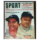 Vintage SPORT Magazine- Babe Ruth Cover