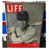 Vintage LIFE Magazine- Spring Training Cover