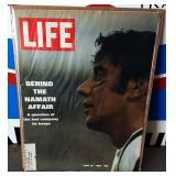 Vintage LIFE Magazine- Joe Namath Cover