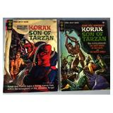 "Vintage Comic Books- Edgar Rice Burroughs ""Korak, Son of Tarzan"""