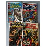 """Vintage Marvel Comic Books- """"Sgt. Fury and His Howling Commandos"""""""
