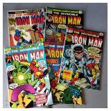 "Vintage Marvel Comic Books- ""Iron Man"""