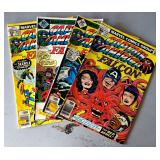 "Vintage Marvel Comic Books- ""Captain American & the Falcon"""