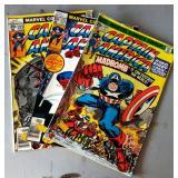 "Vintage Marvel Comic Books- ""Captain America"""