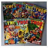 """Vintage Marvel Comic Books- """"Thor"""""""
