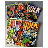"Vintage Marvel Comic Books-""The Incredible Hulk"""