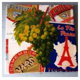 Parisian-themed Trivet