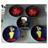 French-themed Decorator Plates