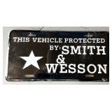 Smith & Wesson License Plate