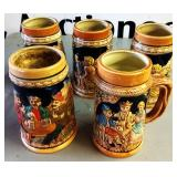 Vintage German or Japanese Steins   MANY OTHER ITEMS NOT PICTURED TO BE SOLD!