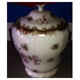 Antique Biscuit Jar, Marked