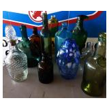 Collection of Vintage Bottles     WE HAVE OVER 100+ LOTS OF ITEMS NOT PICTURED!