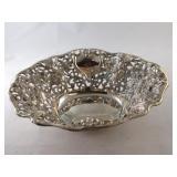 Vintage Silver Plate Ornate Bowl