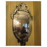 Ornate Vintage Decorative Wall Mirror