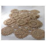 Vintage Crochet Dresser Scarves (2)