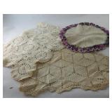 Vintage Assorted Table Scarves (3)