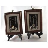 Framed Spoons Wall Hanging (Pair)