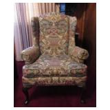 Vintage Side Chair, Wesley Hall Upholstery