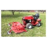 Steiner 430 Max 4-wheel drive articulating lawn