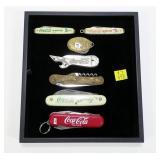 7- Coca Cola pocket knives