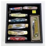 8- Patriotic pocket knives: WWII; 1775-1975,