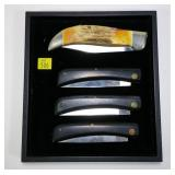 4- Case pocket knives: 5172SSP, 3-2538 sod