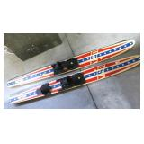 Lot, pair of riptide USA water skis
