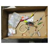 Lot, lures and lure parts