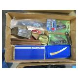 Lot, pocket knives in boxes, miscellaneous