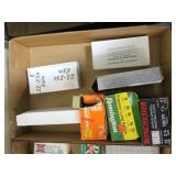 Lot, partial boxes ammo and reloads: 12 Ga.,