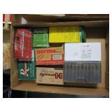 Lot, relaods: .22-250, 8mm Mauser