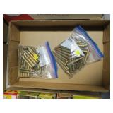 Lot, 2 bags military looking ammo, some marked