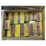 Lot, partial boxes vintage Western: .32 S & W,