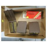 Lot, ammo: .44 REM Mag (3 boxes), partial Federal