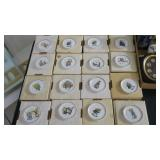 Lot, 16 plates from Berta Hummel Museum Miniature
