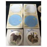 Lot, 15 plates, 10 are Hummels: Hummel 1973, 1978,