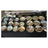 Lot, 21 Hummel plates by Danbury Mint
