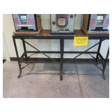 Iron stand for 3 slot machines, 5
